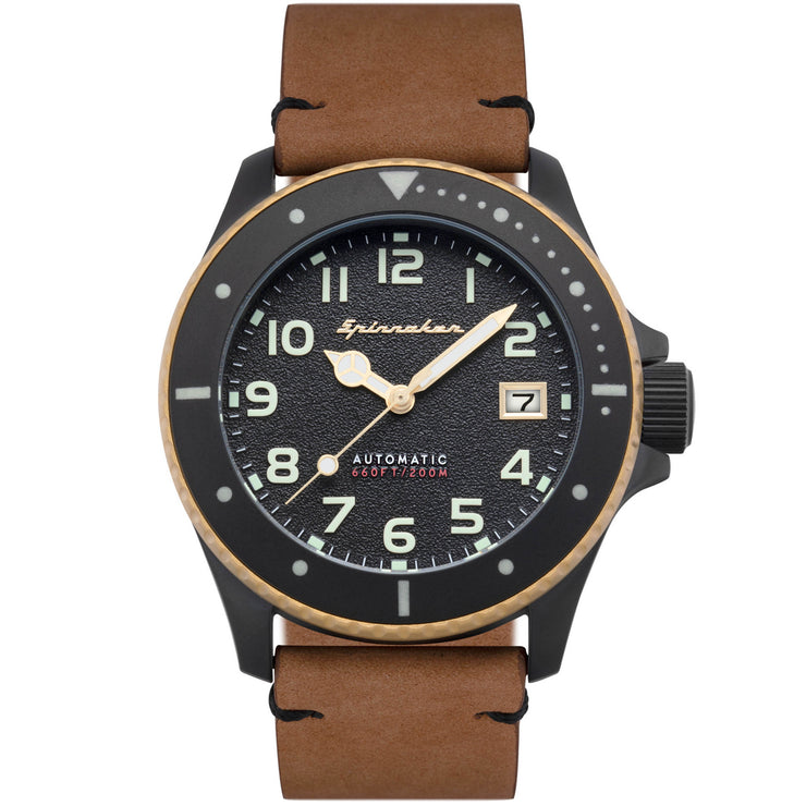 Spinnaker Spence Automatic Black Brown