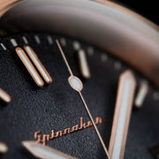 Spinnaker Hull Riviera Automatic Grey Rose Gold