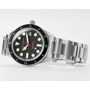 Spinnaker Cahill Automatic Mid-Size Silver Black
