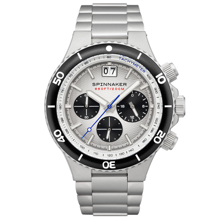 Spinnaker Hydrofoil Chronograph Silver