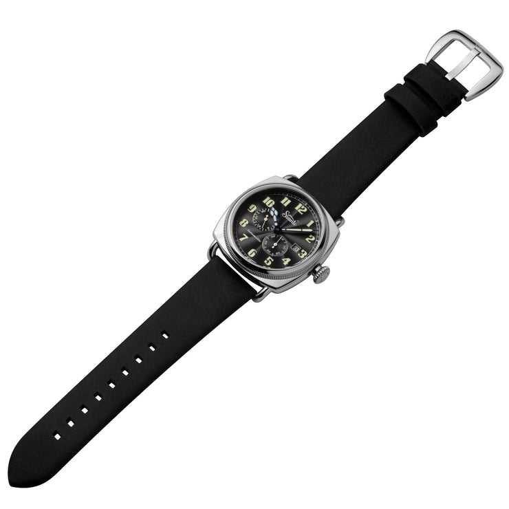 Szanto Officer's Coin Cushion Automatic Silver Black