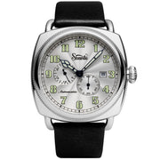 Szanto Officer's Coin Cushion Automatic All Silver