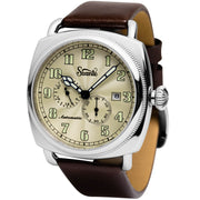 Szanto Officer's Coin Cushion Automatic Ivory Brown