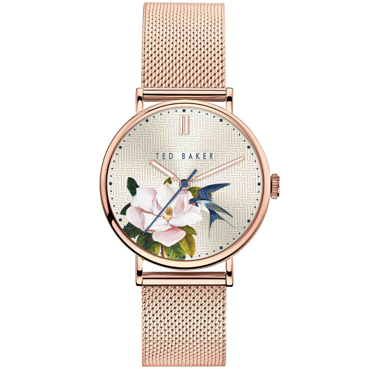 Ted Baker Phylipa Flowers Rose Ivy
