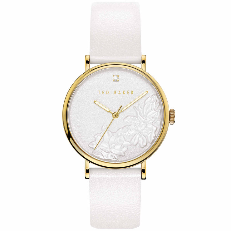Ted Baker Phylipa Flowers Gold White