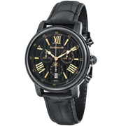 Thomas Earnshaw Longcase Swiss Chronograph Black Gold