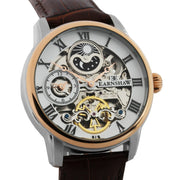 Thomas Earnshaw Longitude Automatic Silver Brown White
