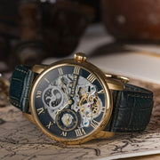 Thomas Earnshaw Longitude Automatic Gold Green