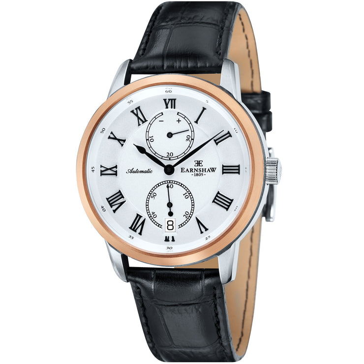 Thomas Earnshaw Chancery Automatic White Rose Gold