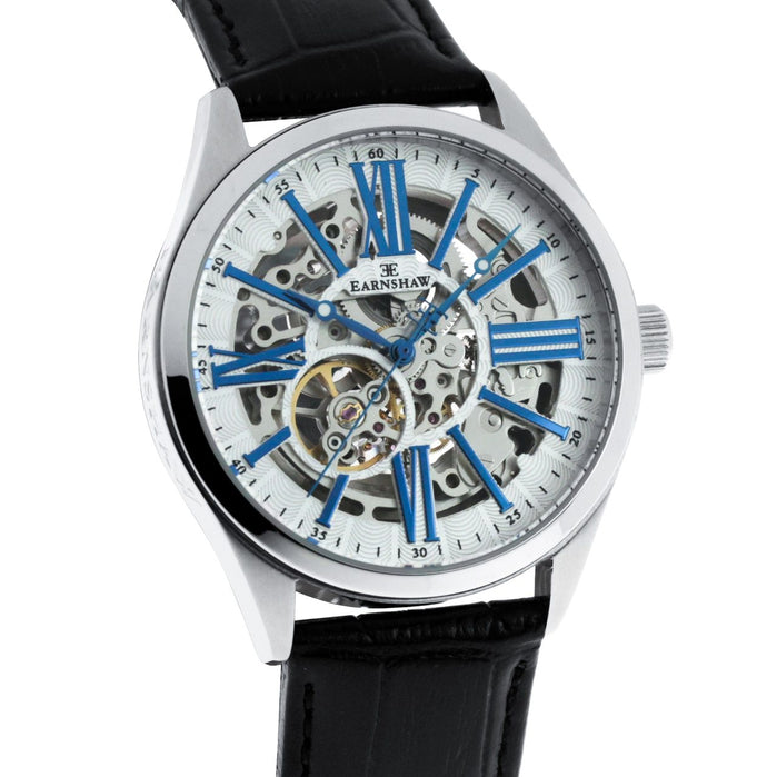 Thomas Earnshaw Armagh Automatic Silver Black White angled shot picture