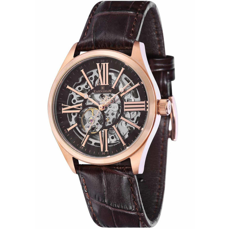 Thomas Earnshaw Armagh Automatic Rose Gold Brown