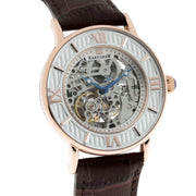 Thomas Earnshaw Darwin Automatic Rose Gold Brown White