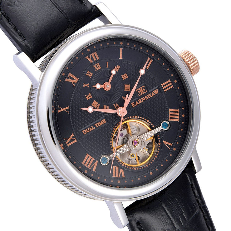 Thomas Earnshaw Beaufort Automatic Silver Black