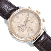Thomas Earnshaw Longitude Chronograph Brown