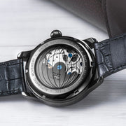 Thomas Earnshaw Longitude Shadow Automatic Black Silver