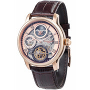 Thomas Earnshaw Longitude Shadow Automatic Rose Gold Brown