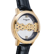 Thomas Earnshaw Cornwall Bridge Hand Wind Gold Black