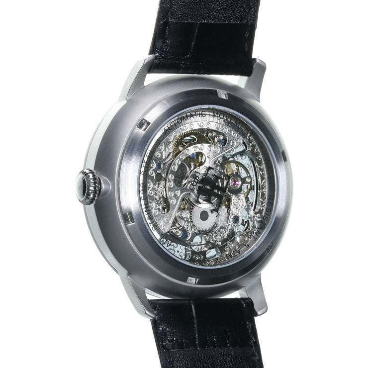 Thomas Earnshaw Vancouver Skeleton Automatic Silver Black
