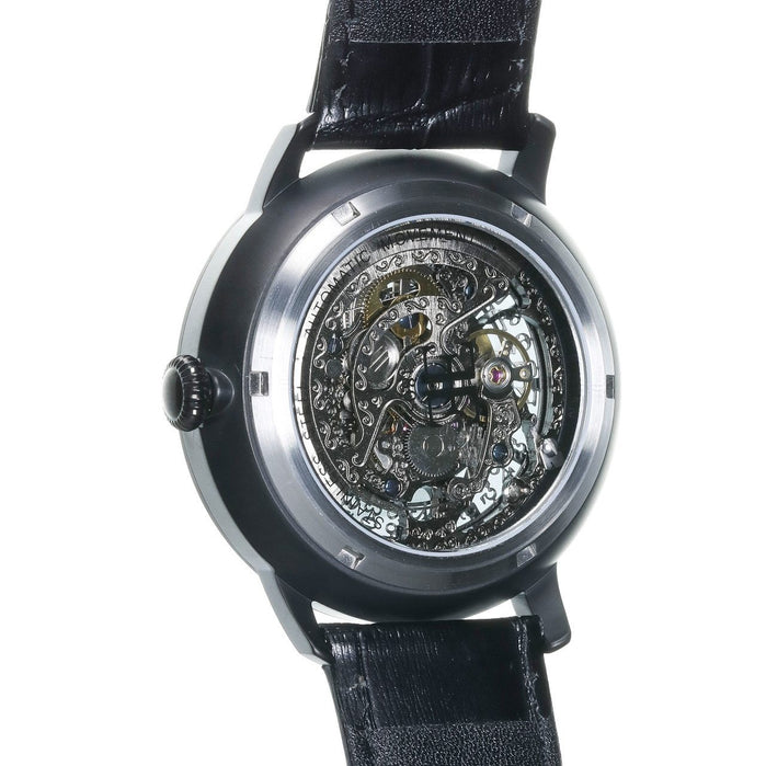 Thomas Earnshaw Vancouver Skeleton Automatic Black angled shot picture
