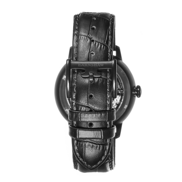 Thomas Earnshaw Vancouver Skeleton Automatic Black