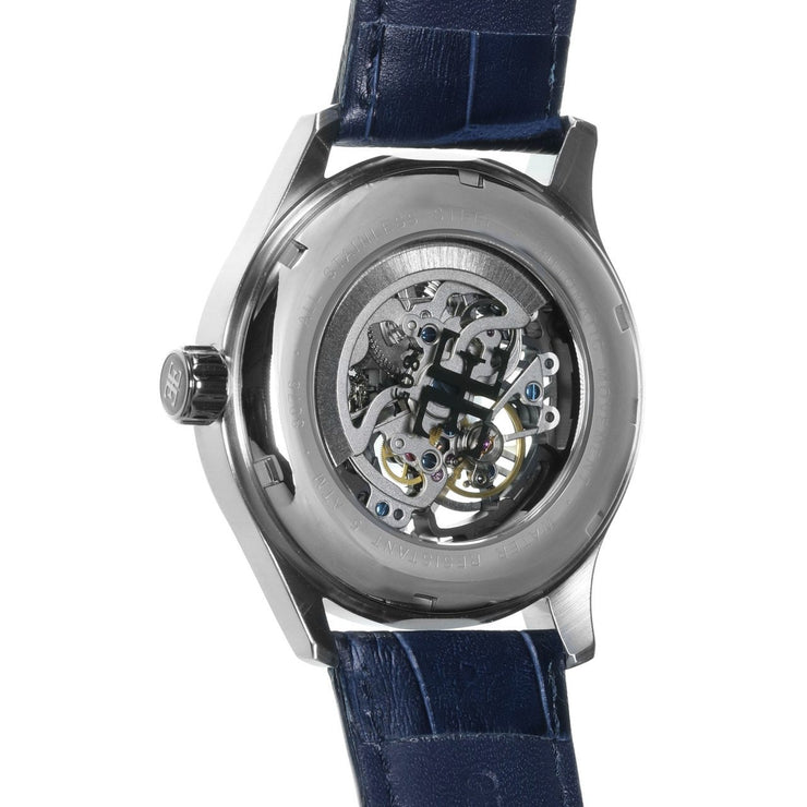 Thomas Earnshaw Beagle Automatic Woolwich Edition Silver Blue