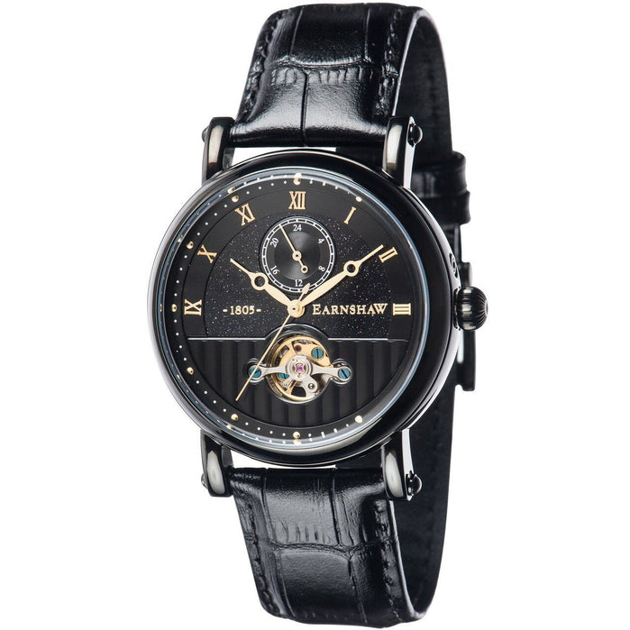 Thomas Earnshaw Maskelyne Celestial Automatic Black angled shot picture