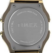 Timex T80 Digital Gold SS Pride Edition