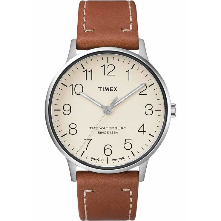 Timex Waterbury Classic Natural Tan