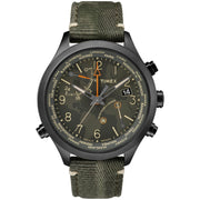 Timex Waterbury World Time Intelligent Quartz Black Olive