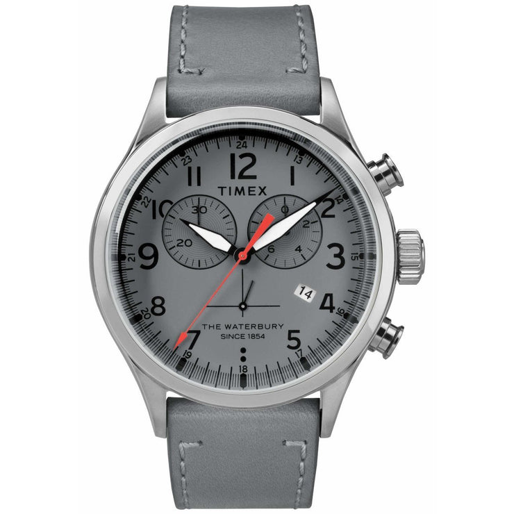 Timex Waterbury Traditional Chrono Silver Grey