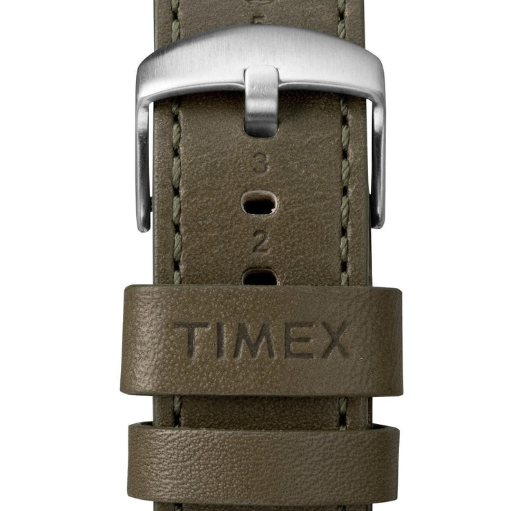 Timex Waterbury Traditional Chrono Silver Olive