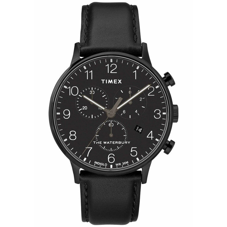 Timex Waterbury Classic Chrono Black