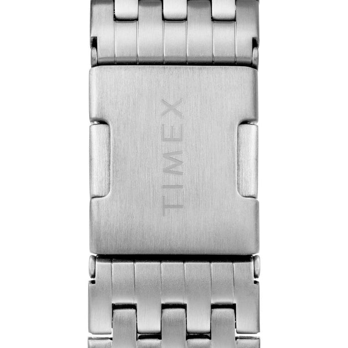 Timex Waterbury Classic Chrono Silver SS angled shot picture