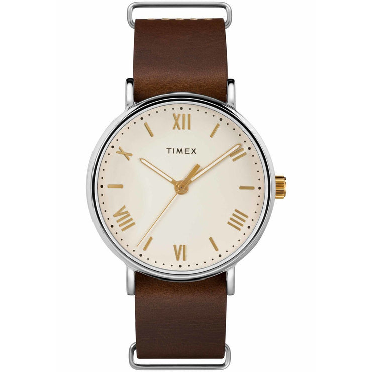Timex Southview Cream Brown
