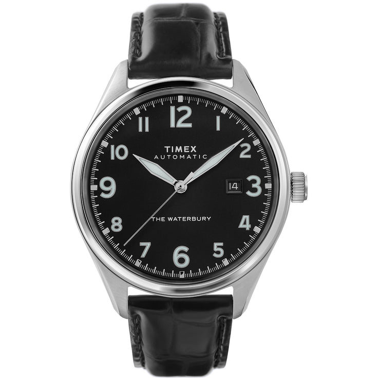 Timex Waterbury Traditional Automatic Black Silver