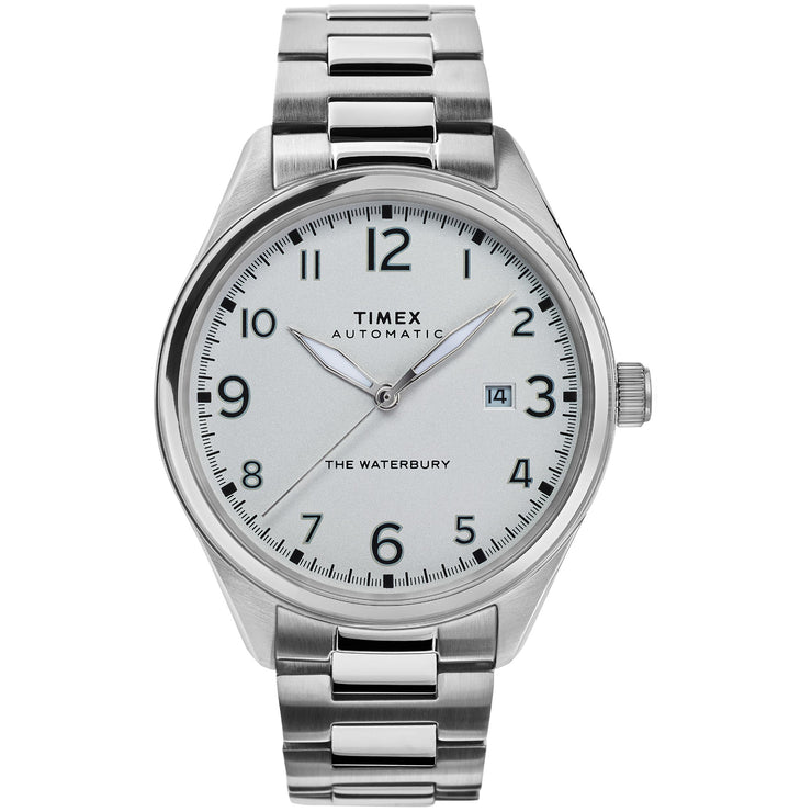 Timex Waterbury Traditional Automatic Silver SS