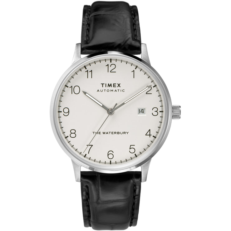 Timex Waterbury Classic Automatic 40mm Silver Black
