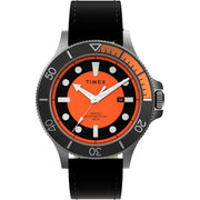 Timex Allied Coastline 43mm Black Orange