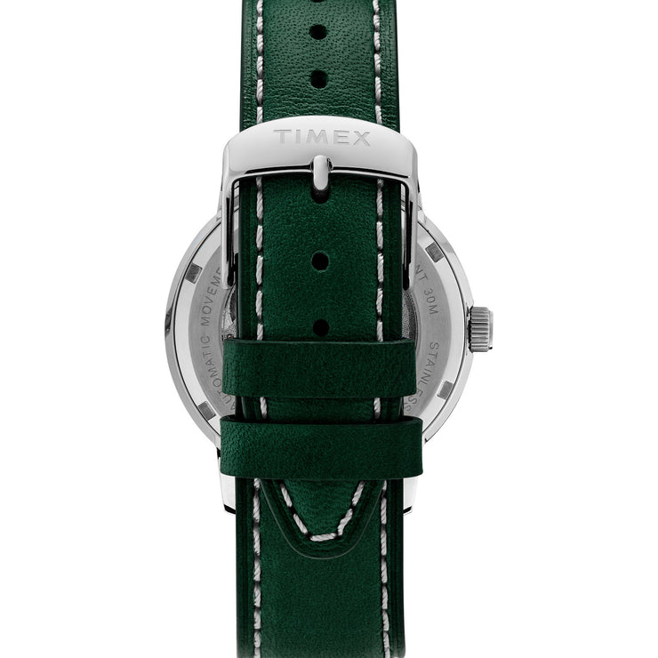 Timex Marlin 40mm Automatic Silver Green