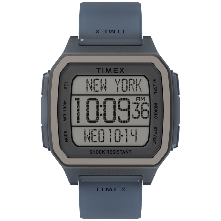 Timex Command Urban 47mm Translucent Blue