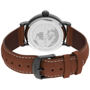 Timex Standard 40mm Black Brown