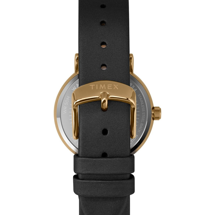 Timex Celestial Opulence Crystal 37mm Black Gold