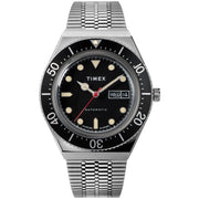 Timex M79 Automatic 40mm Silver Black