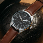 Timex Waterbury Traditional Day Date Black Brown