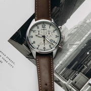 Timex Waterbury Traditional Chrono 42mm Tan Brown