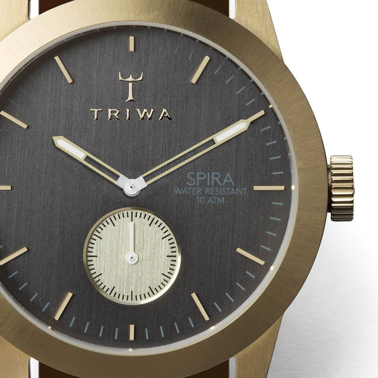 Triwa Ash Spira Gold Brown