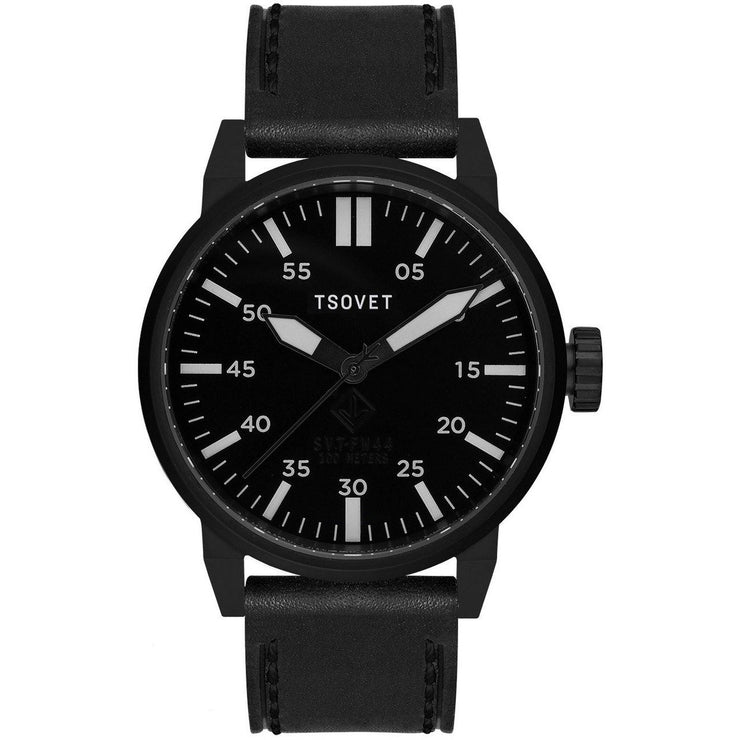Tsovet SVT-FW44 Swiss Field Watch All Black