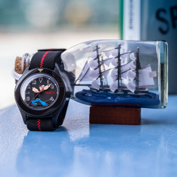 UNDONE x Popeye Automatic The Sailorman Limited Edition angled shot picture