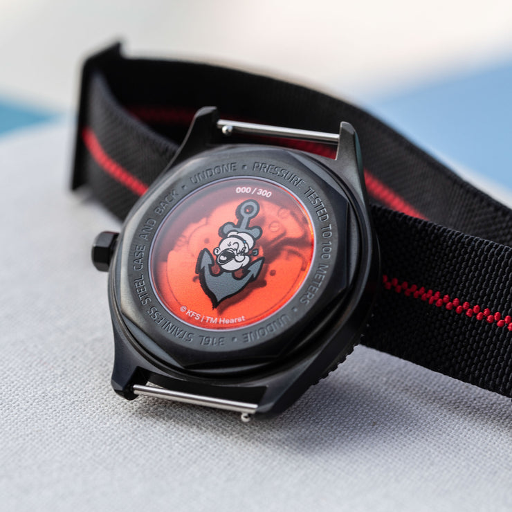 UNDONE x Popeye Automatic The Sailorman Limited Edition