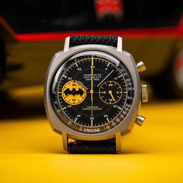 Undone Batman Chronograph Caped Crusader Limited Edition